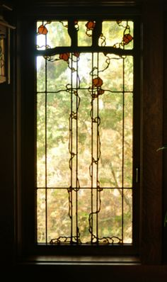 The gorgeous stained glass work of Theodore Ellison studio.  LOVE!