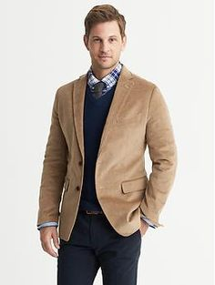 Men's Blazers and Sport Coats Corduroy Sport Coat, Corduroy Blazer, Mens Clothing Styles, Clothing Items, Fashion Moda, Mens Fashion, Mens Cords, How To Look Handsome, Blazers For Men
