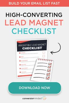 If you've been struggling to build your email list, this lead magnet checklist will help! Learn the steps to creating an irresistible freebie that turns visitors into leads and customers. You'll be surprised at how fast you can grow you Business Branding, Business Tips, Online Business, Content Marketing, Social Media Marketing, Email Marketing, Social Media Cheat Sheet, Lead Magnet, Le Web
