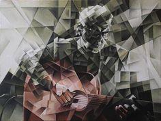 Cubo-futurism. Krotkov Vassily.