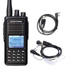 Zastone D900 DMR Digital de Walkie Talkie UHF 400-470 MHz de Frecuencia de Radio Digital Portátil Transceptor de HF En Moscú hace Dos forma de Radio