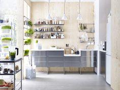 METOD keuken | #IKEA #METOD #GREVSTA #RVS #keuken
