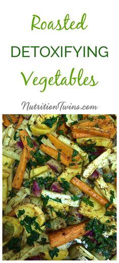 Toxins In Diet Roasted Detoxifying Vegetables Clean Eating, Healthy Eating, Vegetable Nutrition, Nutrition Tips, Nutrition Activities, Nutrition Shakes, Kids Nutrition, Fitness Nutrition, Gourmet