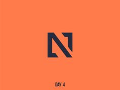 Logo Discover Day 4 Single Letter N Day 4 Single Letter N by Vello Studio N Logo Design, Monogram Design, Business Logo Design, Graphic Design Branding, Corporate Design, Typographie Logo, Architect Logo, Initials Logo, Cool Lettering