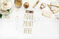 #25 KATE MAXWELL Styled Mock-up by KateMaxStock on @creativemarket
