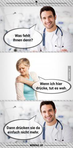 Ich wäre eine tolle Ärztin...