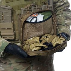 Tactical Medical Solutions Trauma Kits: Combat Medic Pouch - Combat Medic Pouch-tan