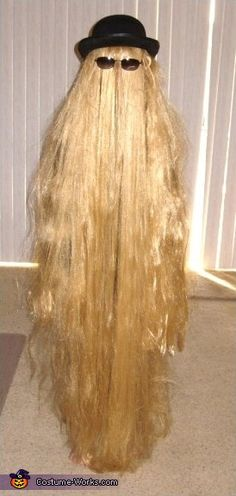 """Cousin Itt"" Adams Family Character Halloween costume"