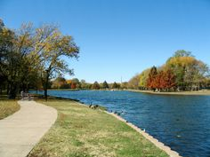Towne Lake Park in McKinney, Texas