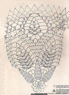 Mur Crochet Dollies, Crochet Doily Patterns, Crochet Mandala, Thread Crochet, Filet Crochet, Hobbies And Crafts, Diy And Crafts, Crochet Lingerie, Crochet Tablecloth