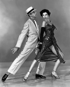 "Fred Astaire & Cyd Charisse. ""I have no desire to prove anything by dancing. I have never used it as an outlet or a means of expressing myself. I just dance. I just put my feet in the air and move them around."" (Astaire) . . .""Fred moved like glass. Physically it was easy to dance with him. It was not as demanding on me."" (Charisse)"