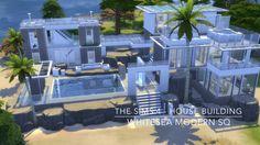 The Sims 4 - House Building - Whitesea Modern SQ