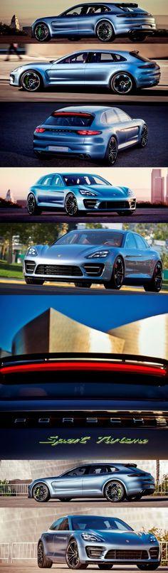 Concept Debrief – Porsche Panamera Sport Turismo