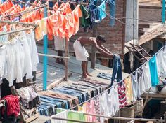 Worker at Dhobi Ghat Photo by Sergio Nogueira — National Geographic Your Shot