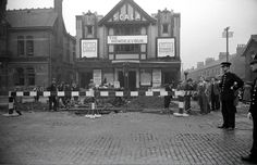 A close call for the Scala Theatre, Withington, Manchester,October 1, 1940