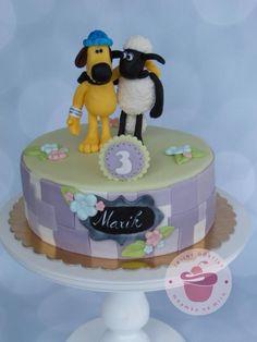Shaun and Bitzer cake - Cake by Jana