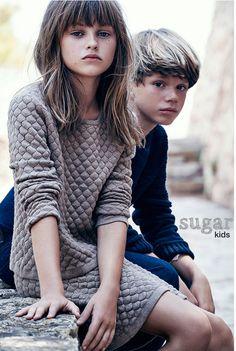 Chiara y Carlos de Sugar Kids para Massimo Dutti