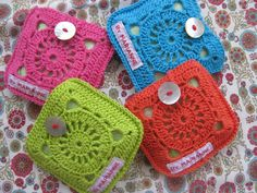 Small bags crochet