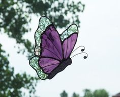 Butterflies - by Ladybug Stained Glass