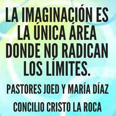 La imaginación es la única área donde no radican los límites.