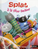 Splat the Cat is back in New York Times bestselling author-illustrator Rob Scotton's beginning reader Splat the Cat: Up in the Air at the Fair. In this My First I Can Read Book, Splat, Spike, and Plank can't wait to go to the fair. But when Kitten. Splat Le Chat, Sounding Out Words, I Can Read Books, Album Jeunesse, Get Well Gifts, Cat Mouse, Early Readers, Illustrations, Kids Learning