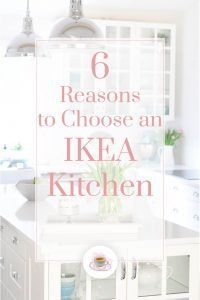 When we decided to renovate our kitchen, we looked at our options. After doing our research, we decided to go with installing an IKEA kitchen and we couldn't be happier with the result. I decided to share our reasons for choosing IKEA kitchen cabinets! Ikea Kitchen Cabinets, Kitchen Decor, Modern Farmhouse Kitchens, Home Kitchens, Interior Design Inspiration, Home Interior Design, Renovation Budget, Small Apartment Kitchen, Ikea Shelves