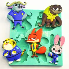 Cheap mold for, Buy Quality cake mold directly from China cake mould Suppliers: 	2016 Popular Cartoon Silicone Cake Moulds As Sloth Fox Leopard Buffalo Rabbit Cake Mold For Wedding Decotation Cake Bak