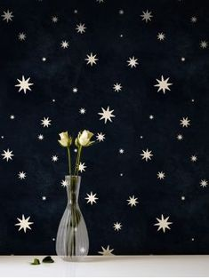 Nuit Etoilée wallpaper from the Parisian's wall decoration brand: Papermint