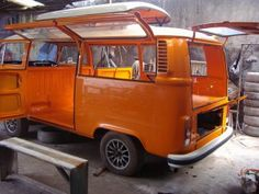Modifikasi Mobil VW Combi Elegan