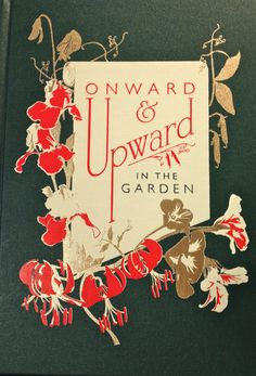 ~ onward and upward ~ Book Cover Art, Book Cover Design, Book Design, Book Art, Vintage Book Covers, Vintage Books, Vintage Ephemera, Victorian Books, Antique Books