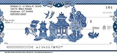 Blue Willow Personal Checks