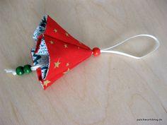 Fabric jingle bells tutorial