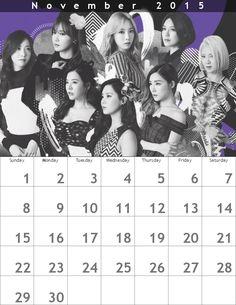 ファンタジア少女時代カレンダー800×1035 ʕ•ᴥ•ʔ 1511