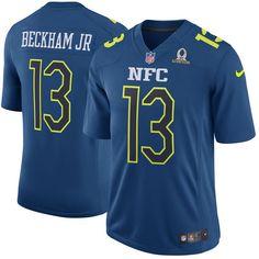 cd209814b Men NFC New York Giants 13 Odell Beckham Jr Nike Navy 2017 Pro Bowl Game  Jerseycheap nfl jerseys