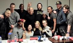 Group photo of the cast of Suicide Squad.