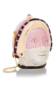 Masked Sphinx Head Minaudiere by HERITAGE AUCTIONS SPECIAL COLLECTION for Preorder on Moda Operandi