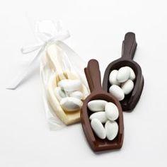 5 Jordan Almonds With Chocolate Scoop Traditions Wedding Blog