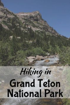 Best hikes and sights to see in Grand Teton National Park. Where to camp, where to eat, and what to do! Click through for the full guide!