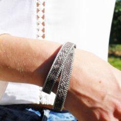 Collection: fall in love - bracelet en cuir - francesca