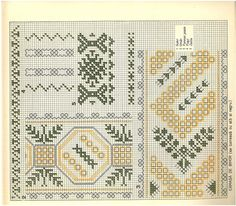 Embroidery Stitches, Embroidery Patterns, Cross Stitch Patterns, Hello December, Traditional, Quilts, Blanket, Romania, Folklore
