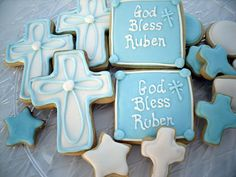 Baptism Cookies Christening Confirmation by charmingtreats4you, $34.00