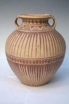 Chinese Neolithic Ceramic Pottery Jar Vessel : Lot 231