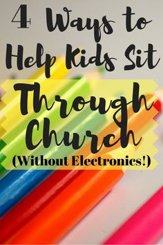 It's tough teaching kids how to sit still and be reverent during church. I've physically carried a screaming child out of a church service more than once - and I'm the pastor's wife. Here are 4 tried and true ways to help kids make the transition from the Church Activities, Activities For Kids, Bible Activities, Pastors Wife, Sermon Notes, Kids Church, Church Ideas, Christian Parenting, Christian Homemaking