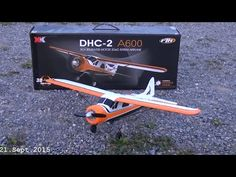 5CH Brushless Motor DHC-2 A600 RC Airplane ....