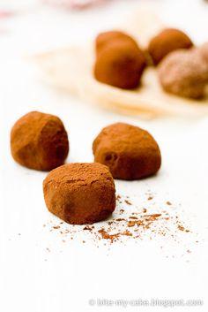 chocolate chestnut:truffles