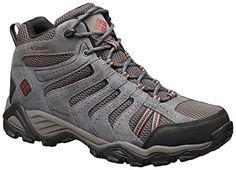 Columbia Mens Redmond Waterproof Mid Hiking Shoe Cordovan Dark 7  Visor >>> Learn more by visiting the image link.