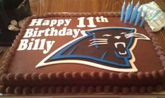 Happy 11th Birthday, Billy By ptanyer on CakeCentral.com