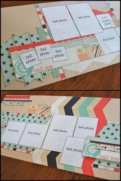 Scrapbook generation - Allison Davis & Debbie Sanders layouts