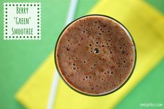 """Emily Bites - Weight Watchers Friendly Recipes: Berry """"Green"""" Smoothie"""