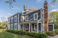 Fabulous Antique Colonial | Basking Ridge Somerset County Single Family Home Home for Sales Details